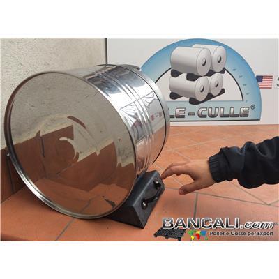 Cunei Zeppa  in Plastica  200 mm. Universale con 2 Gommini antiscivolo, per Bloccare le Bobine o Cilindri in genere. e Maniglia per la presa. Peso Tara 550 gr.