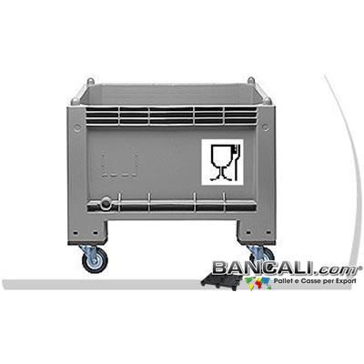 Cargo300RuATX - Box Cassa con Ruote 300 Litri IGIENICA 70x100 h.80cm