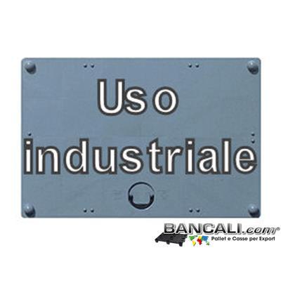 Coperchio CargoPAL 700 Litri Materiale Plastica Uso industriale 1000x1200 mm. Kg. 4
