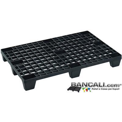 Export80x120L -  Europallet  800x1200 mm. EXPORT-PALLET® in Plastica Inseribile  Grigliato  Leggero,  anche per le Spedizioni Aeree: AirPALLET®  Peso Tara. 5 Kg.