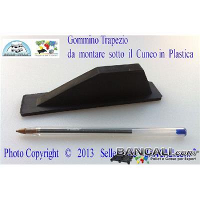 Gommino-Trapezio-per-Cuneo-1144 - Gommino piuttosto grande a forma di Trapezio indoneo al Cuneo Lungo 1144 mm.