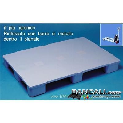 Haccp80p9Rack - EuroPALLET Haccp igienico Atossico 80x120 RINFORZATO Piedi 9