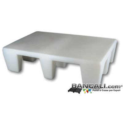 HaccpALTA30cm - Pedana HACCP Alta 30 cm Igienica 80x120 Piano Liscio Chiuso