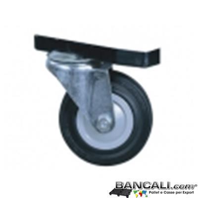 KIT-CARRELLO-ANGOLARE - Ruota per Contenitore Box cargopallet (venduta singolarmente)