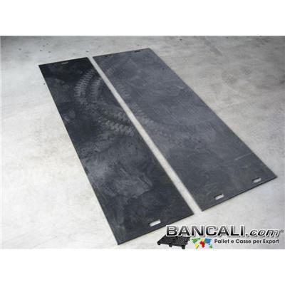 LST75x75h10PP - Lastra in Polipropilene 750x750 h.10 mm. Riciclata molto Robusta e Resistente idonea per  lavori pesanti Peso Tara 6 Kg.
