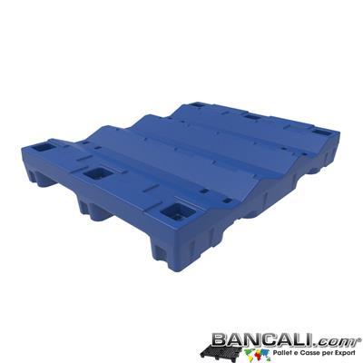 Pallet a Sella per 3 Bobine 1080x1370 h.190 mm. D Max 680 mm. d Min 340 mm. Idoneo a 2 bobine diametro 680 mm.  in plastica:  LLDPE Peso Tara 27 Kg.