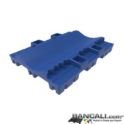 Pallet a Sella per Bobine 1120x1580 h. 250 mm. D Max 1590 mm. d Min 760 mm. in plastica: LLDPE Peso Tara 34 Kg.