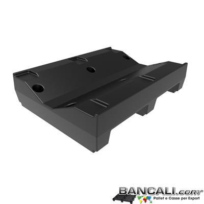 Pallet a Sella per Bobine 700x900 h. 210 mm. D Max 1200 mm. d Min 400 mm. in plastica: LLDPE Peso Tara 14 Kg.