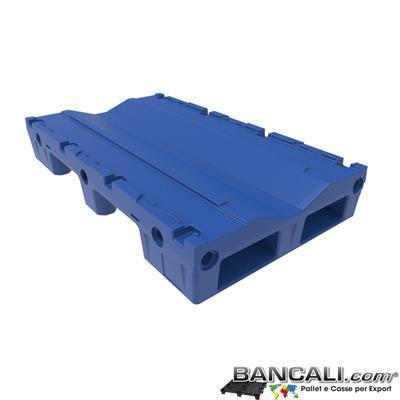 Pallet a Sella per Bobine 800x1370 h. 215 mm. D Max  1010 mm. d Min 400 mm. in plastica: LLDPE Peso Tara 25 Kg.