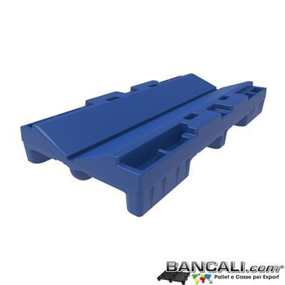 Pallet a Sella per Bobine 800x1680 h. 240 mm. D Max 1270 mm. d Min 152 mm. in plastica: LLDPE Peso Tara 30 Kg.