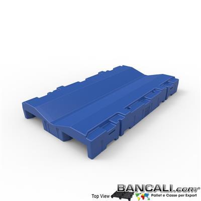 Pallet a Sella  Bobine 850 x 1510  h.180 mm. D Max 1220 mm. d Min 254 mm.  in plastica:  LLDPE Peso Tara 30 Kg.