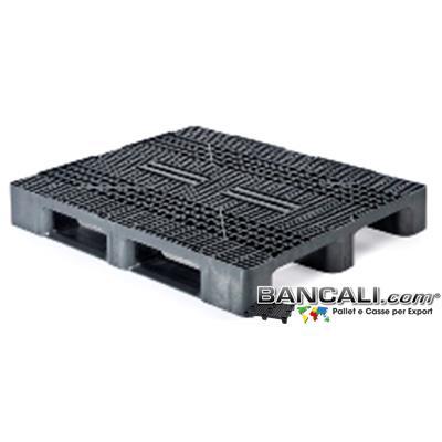 Bancale Rettangolare 100x120 in Plastica a maglia Grigliata con 3 Slitte per Portate consistenti.