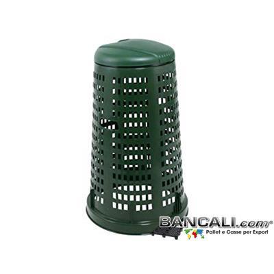 TrespoloPatt - Trespolo in Plastica per introdurre il sacco di Cellophane per l'immondizia o spazzatura  o raccolta Differenziata. Litri ??  Kg. ?